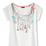 biały t-shirt House - kolekcja na jesień 2013