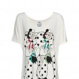 biały t-shirt Mango z nadrukiem - letnia kolekcja