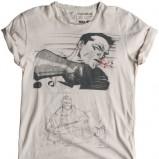 biały t-shirt Pull and Bear - kolekcja letnia