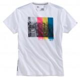 biały t-shirt s.Oliver z nadrukiem - jesień/zima 2010/2011