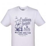 biały t-shirt Top Secret z nadrukiem - wiosna/lato 2012