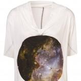 biały t-shirt Topshop z aplikacją - kolekcja wiosenno/letnia