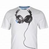 biały t-shirt Troll z nadrukiem - wiosna/lato 2011