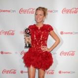Blake Lively w czerwonej sukience
