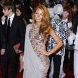 Blake Lively w sukni wieczorowej