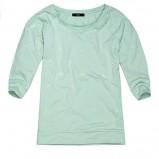 błękitna bluza Reserved - wiosna/lato 2013