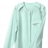 błękitna bluzka H&M - lato 2012