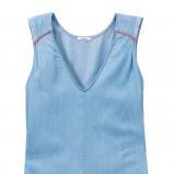 błękitna bluzka Lee