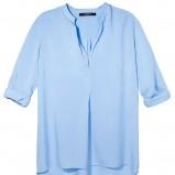 błękitna bluzka Reserved - wiosna 2012