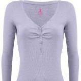 błękitna bluzka Tally Weijl - z kolekcji wiosna-lato 2012
