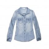błękitna koszula Cropp - kolekcja na lato