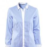 błękitna koszula H&M - wiosna/lato 2013