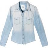 błękitna koszula Reserved - kolekcja wiosenno/letnia