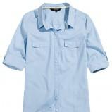 błękitna koszula Reserved - wiosna/lato 2013