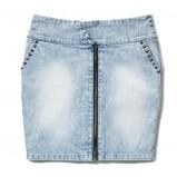 błękitna spódnica House dżinsowa - kolekcja jesienno-zimowa