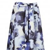 błękitna spódnica Jackpot we wzory - wiosna-lato 2012
