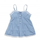 błękitna sukienka KappAhl - z kolekcji wiosna-lato 2012