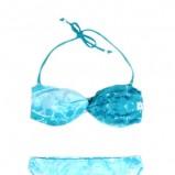 błękitne bikini Moodo - moda plażowa 2013