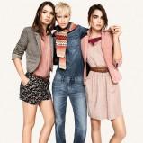 błękitne dżinsy H&M - jesień 2011