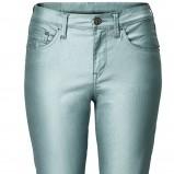 błękitne spodnie H&M rurki - lato 2012