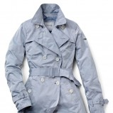 błękitny płaszczyk Geox - kolekcja na lato
