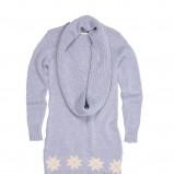 błękitny sweter Bialcon - kolekcja zimowa