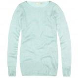 błękitny sweter House - moda 2013/14