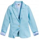 błękitny żakiet Reserved - sezon wiosenny