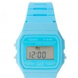 błękitny zegarek Casio - wiosna/lato 2013