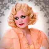 Blond fale w stylu starego Hoollywood