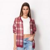 bluza Bershka w kratkę - trendy na jesień 2013