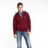 bluza Big Star z kapturem w kolorze czerwonym - jesień/zima 2012/2013