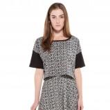 bluzeczka Bershka we wzorki - jesienna moda