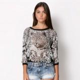 bluzeczka Bershka z tygrysem - jesień i zima 2013/14