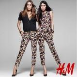 bluzeczka H&M w kwiaty - wiosna 2013