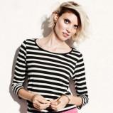 bluzeczka H&M w paski - moda na wiosnę