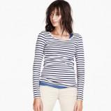 bluzeczka H&M w paski - trendy na wiosnę