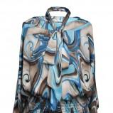 bluzeczka Pretty One w odcieniach niebieskiego - moda damska 2012/13
