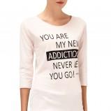 bluzeczka Reserved w kolorze jasnoróżowym - zima 2013/14