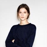 bluzeczka ZARA w kolorze czarnym - propozycje na zimę