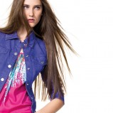bluzka Benetton z nadrukiem - trendy 2012
