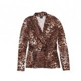 bluzka Bialcon w panterkę - trendy na jesień-zimę