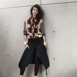 bluzka H&M w grochy - wiosna-lato 2012
