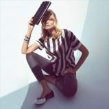 bluzka H&M w paski - wiosna 2013