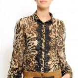 bluzka Mango w panterkę - wiosna/lato 2011
