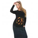 bluzka My tummy z motylkami ciążowe - jesień-zima 2012/2013