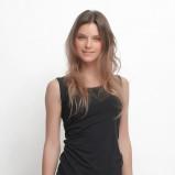 bluzka Top Secret w kolorze czarnym - zima 2013/14