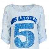 bluzka Unisono w kolorze błękitnym - zima 2013/14