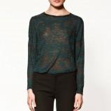 bluzka ZARA - kolekcja jesienna