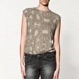 bluzka ZARA we wzory - kolekcja jesienno-zimowa